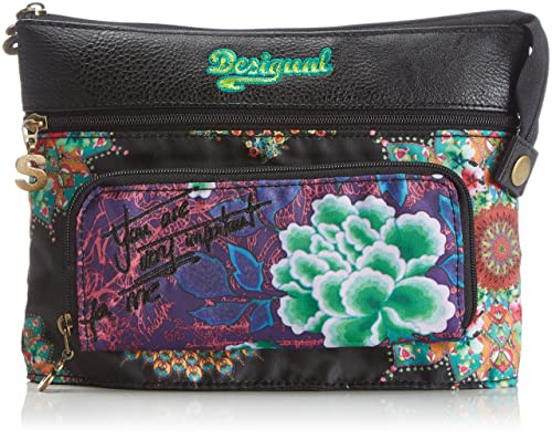Desigual Mone_Take IT Easy Hawaii - Monedero de Material sintético Mujer