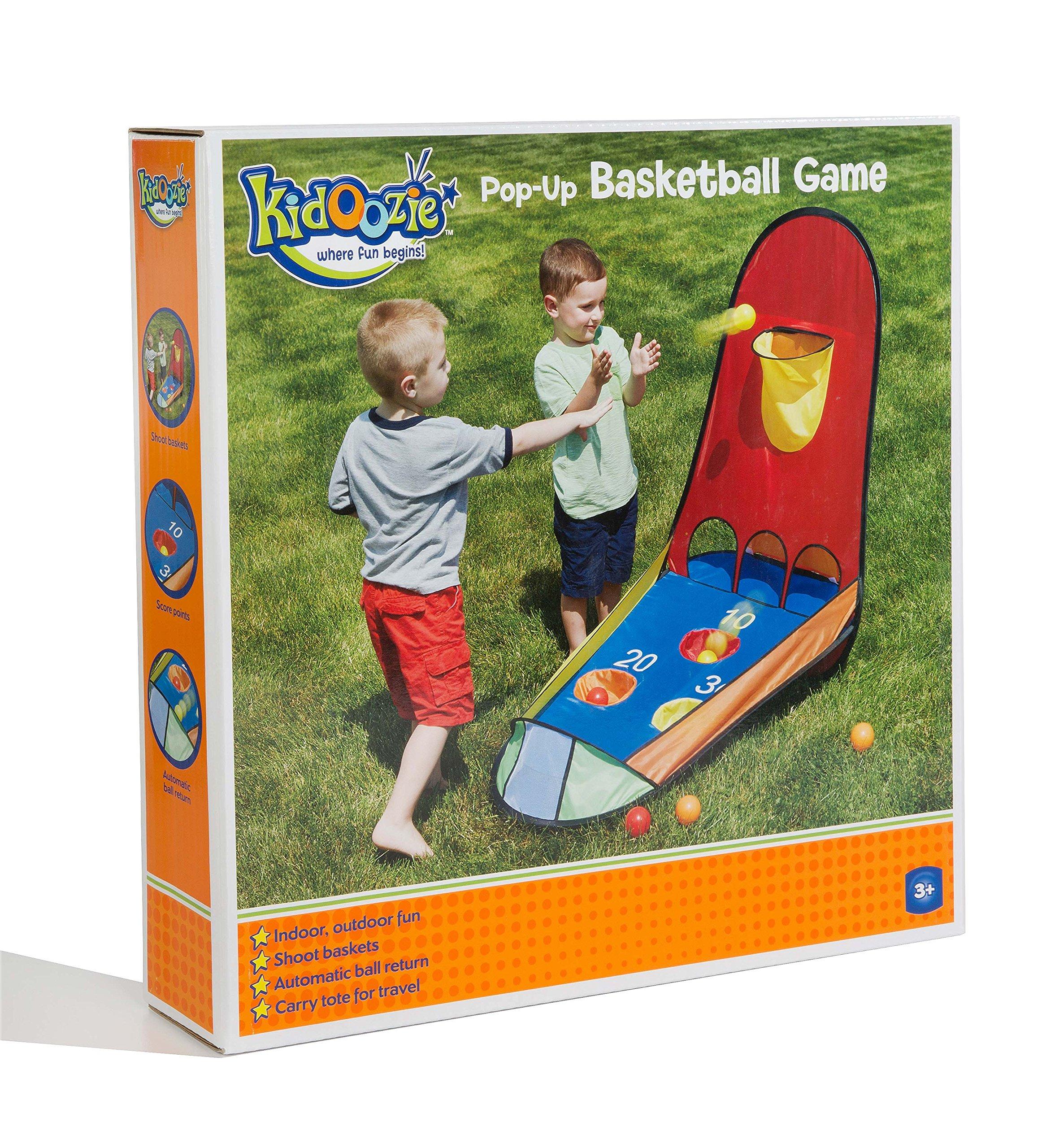 Kidoozie Pop-Up Basketball Game - 3+