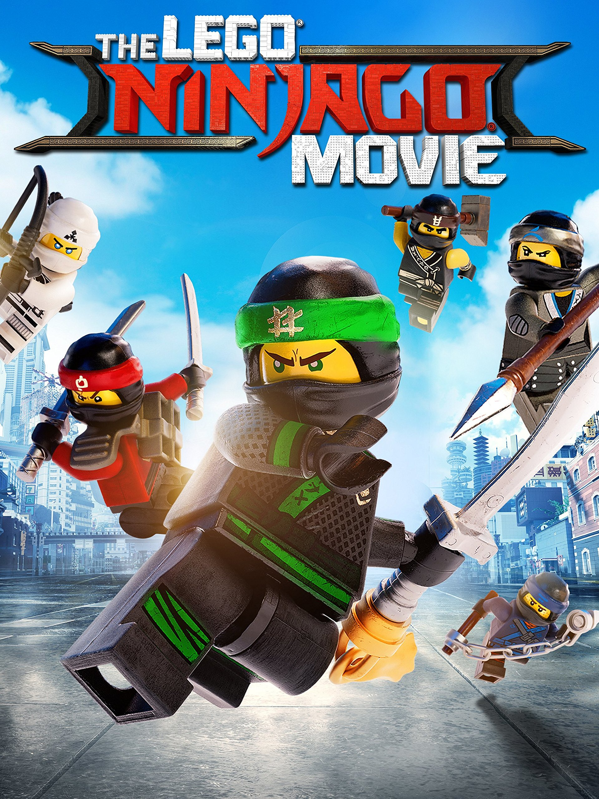 Amazon.com: The LEGO NINJAGO Movie: Jackie Chan, Justin ...