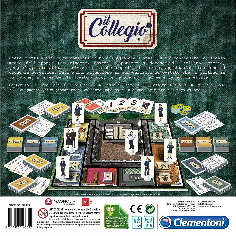 Clementoni - Juego de Mesa El Colegio Multicolor: Amazon.es: Juguetes y juegos