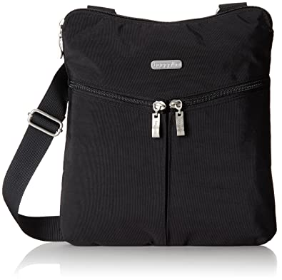 Baggallini Horizon Crossbody Travel Bag, Black, One Size: Handbags ...