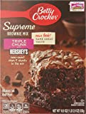 Betty Crocker Premium Brownie Mix, Triple Chunk, 18.9-Ounce (Pack of 6 )