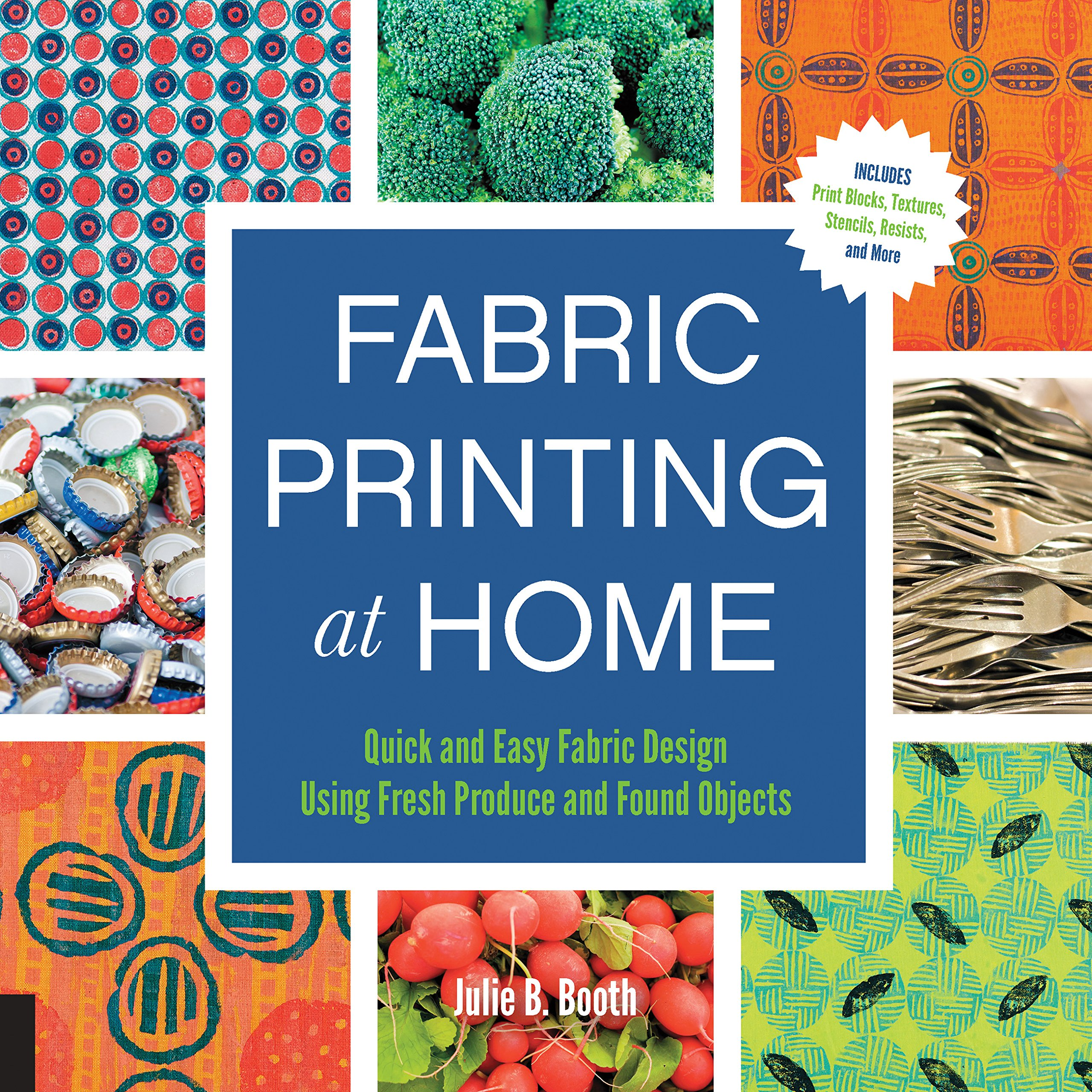 Fabric Printing At Home Quick And Easy Fabric Design Using Fresh