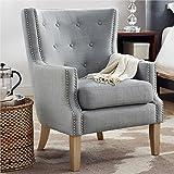 Dorel Living Otto Accent Chair, Gray