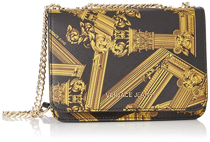 foto ufficiali 089be 41a7e Versace Jeans Bag Borsa a tracolla Donna, (Nero), 7x15x20,5 ...