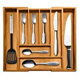 Amazon Price History for:Top Rated Bellemain 100% Pure Bamboo Expandable, Utensil - Cutlery and Utility Drawer Organizer-2 Year Warranty