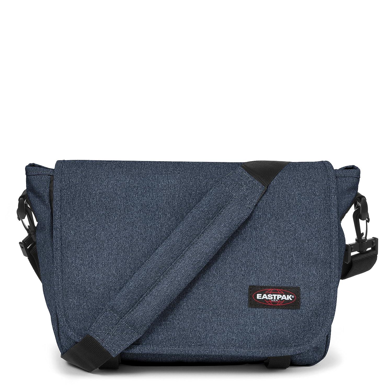 Eastpak Jr Umhängetasche, 33 cm, 11.5 L, Blau (Double Denim) Eastpak Jr Umhängetasche EK07782D