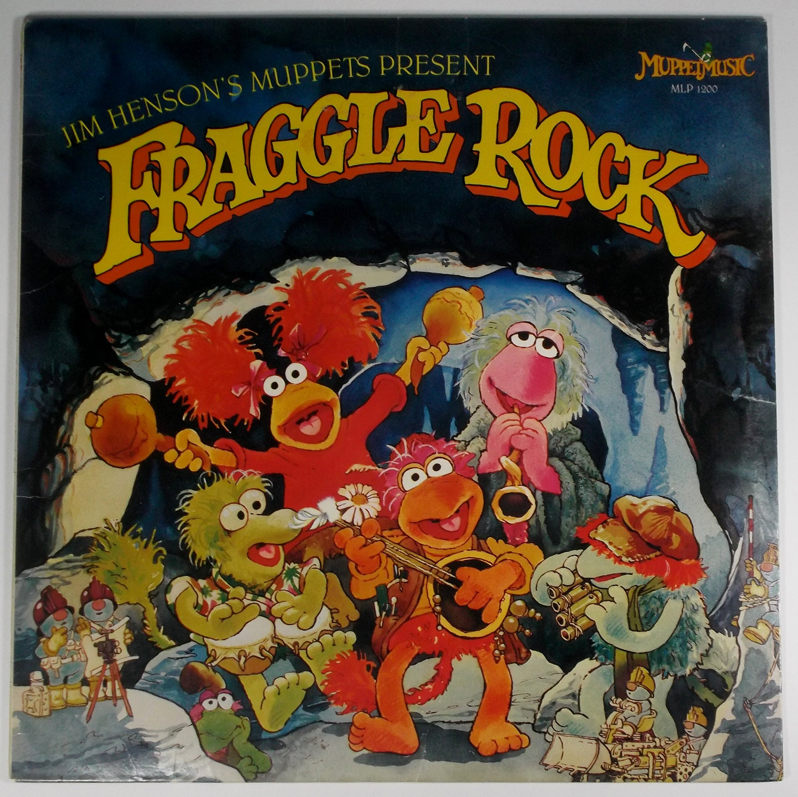 Los muppets de Jim Henson presentan Fraggle Rock