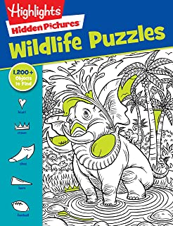 Outdoor Puzzles Highlights Favorite Hidden Pictures Series