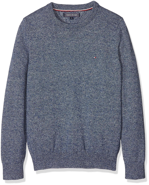 Tommy Hilfiger Essential Crew Neck Sweater, Felpa Bambino KB0KB04184