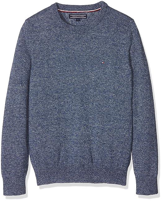 Tommy Hilfiger Essential Crew Neck Sweater, Sudadera para Niños: Amazon.es: Ropa y accesorios