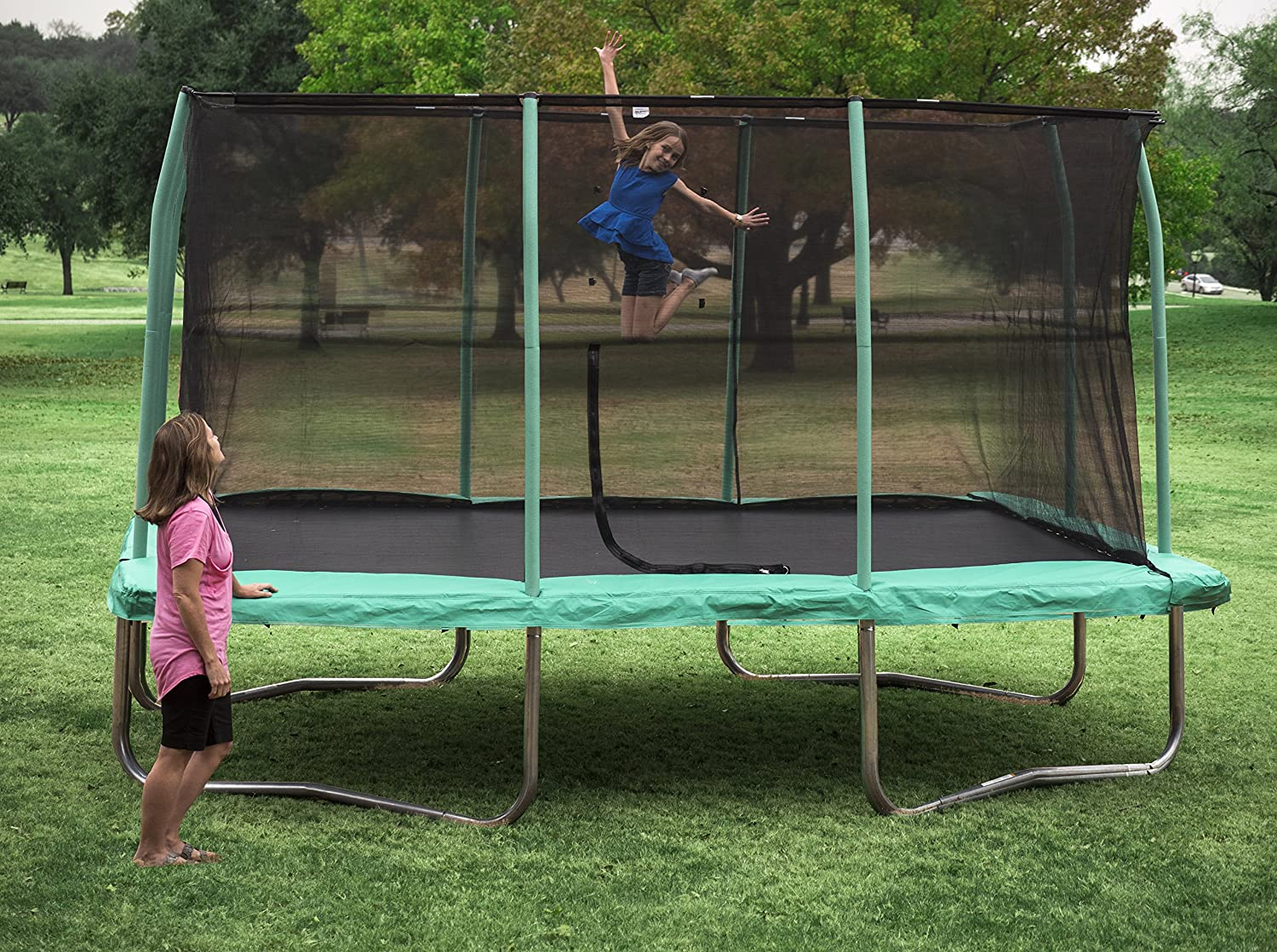 On the other hand, some users shared that the assembly instruction of the  trampoline is poorly written and some found the guidance as unclear. - BEST TRAMPOLINES REVIEWS 2019 Buying Guide PickMyTrampoline