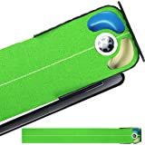CHAMPKEY HST Golf Putting Mat |Premium Synthetic Golf Putting Green | Come with Plastic Ball Bumper