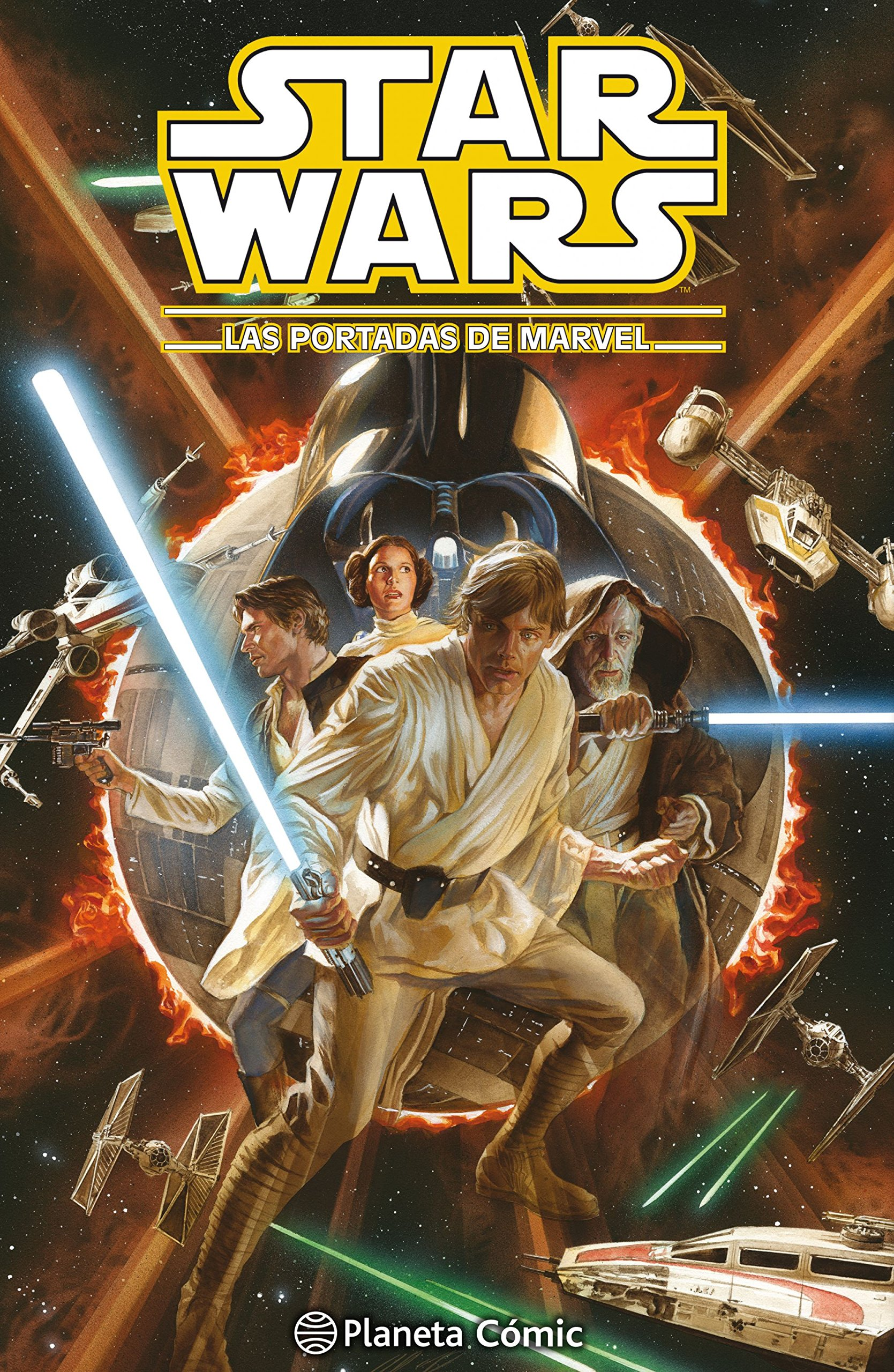 Star Wars, Las portadas de Marvel 1: AA. VV.: 9788416816170 ...