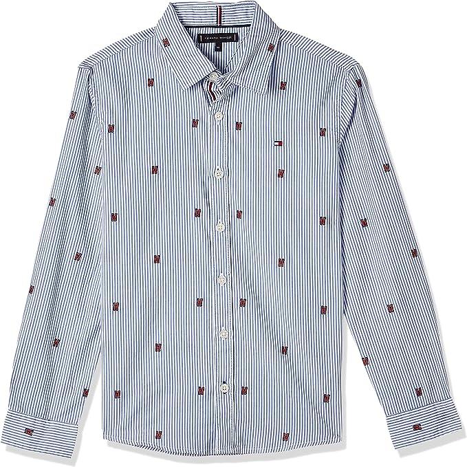 Tommy Hilfiger Camisa Fashion All Over Azul Niño 16 Azul: Amazon.es: Ropa y accesorios