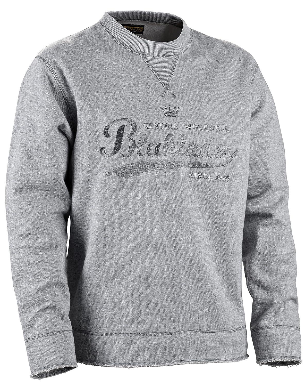 Blakläder Sweatshirt limited Grau, 9038 1060 9000, Gr. L