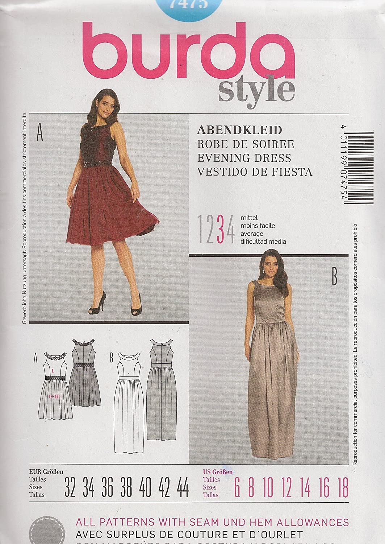 MIsses Evening Dress Sizes 6-18