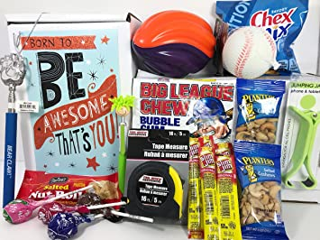 Mens Young Teen Boys Birthday Gift Box Basket