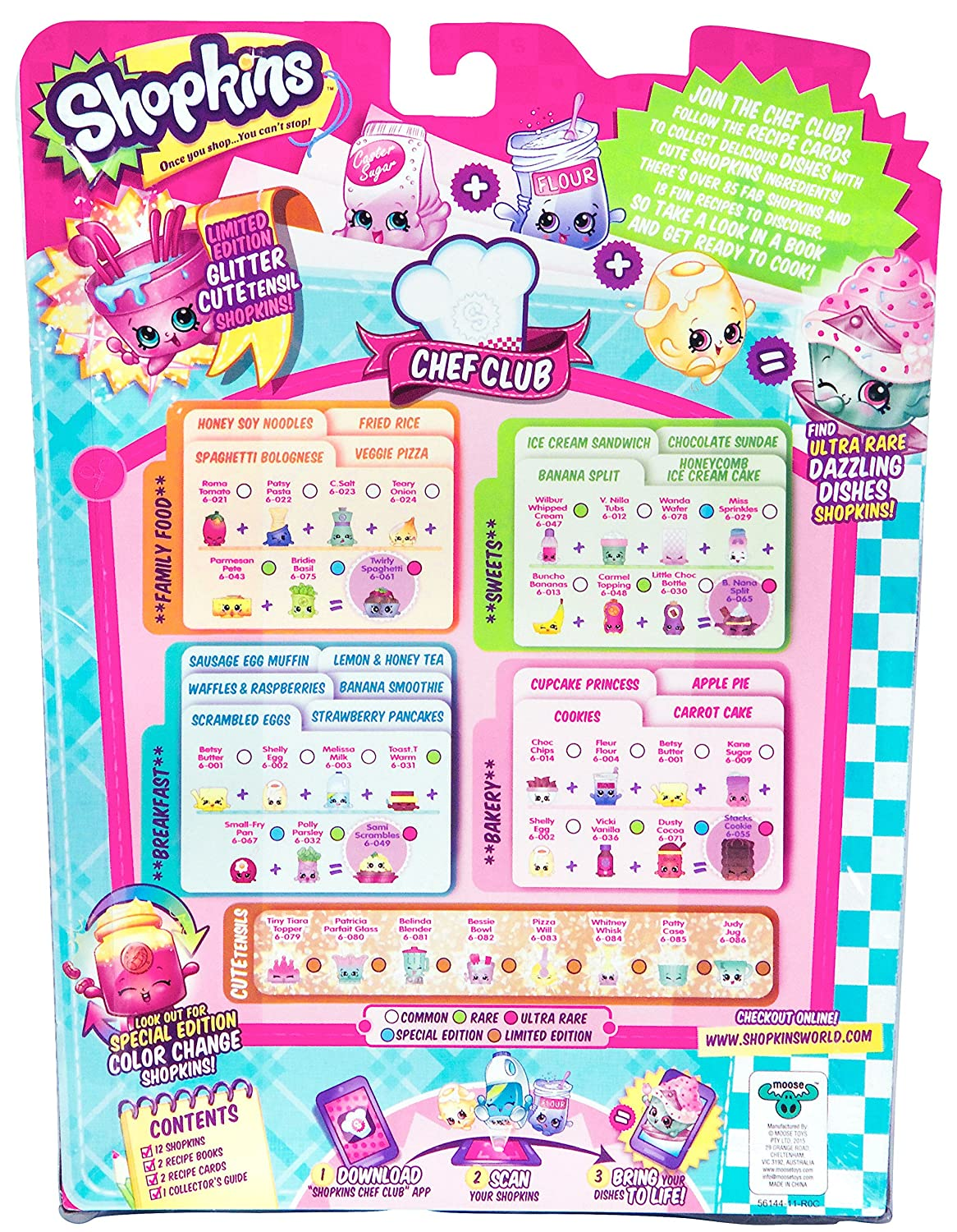 12-Pack Moose Toys 56144 Shopkins Season 6