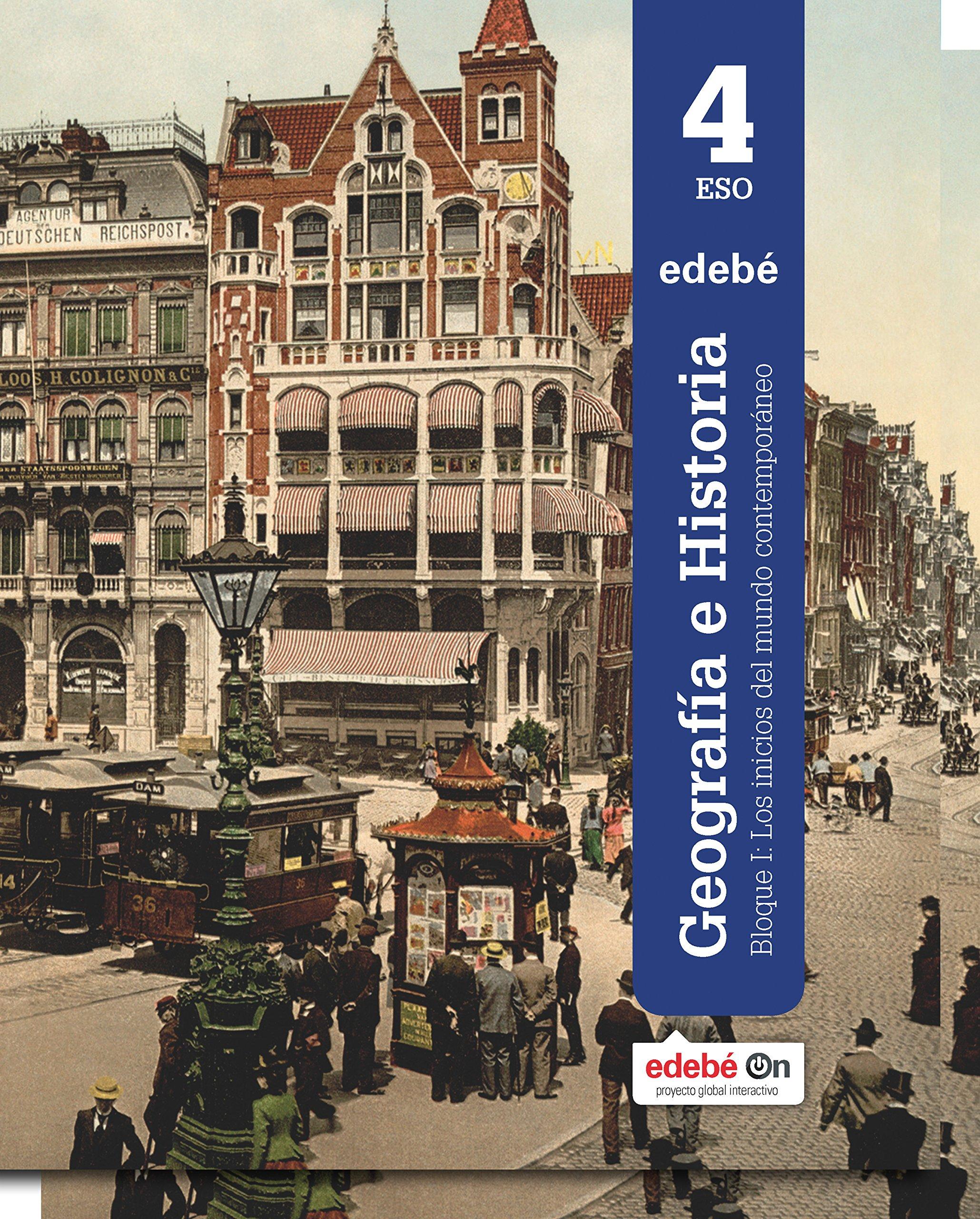 GEOGRAFÍA E HISTORIA 4 - 9788468316925: Amazon.es: Edebé, Obra Colectiva: Libros