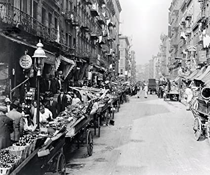 mulberry street  : Italian Neighborhood Street Market Mulberry Street New ...