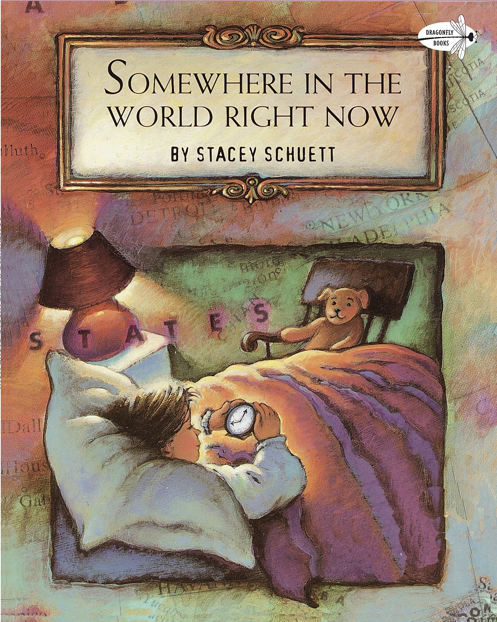 Somewhere In The World Right Now Rise And Shine Stacey Schuett