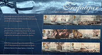 2005 Battle of Trafalgar Presentation Pack Royal Mail