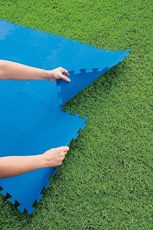 Bestway Flowclear Azulejos de protección del Suelo, Azul: Amazon.es: Jardín