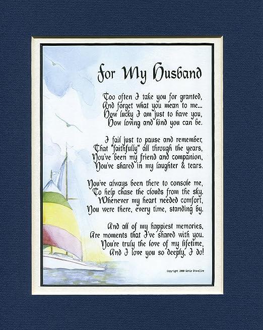 Un Cadeau De Saint Valentin Cadeau Sentimental Poème Pour Un