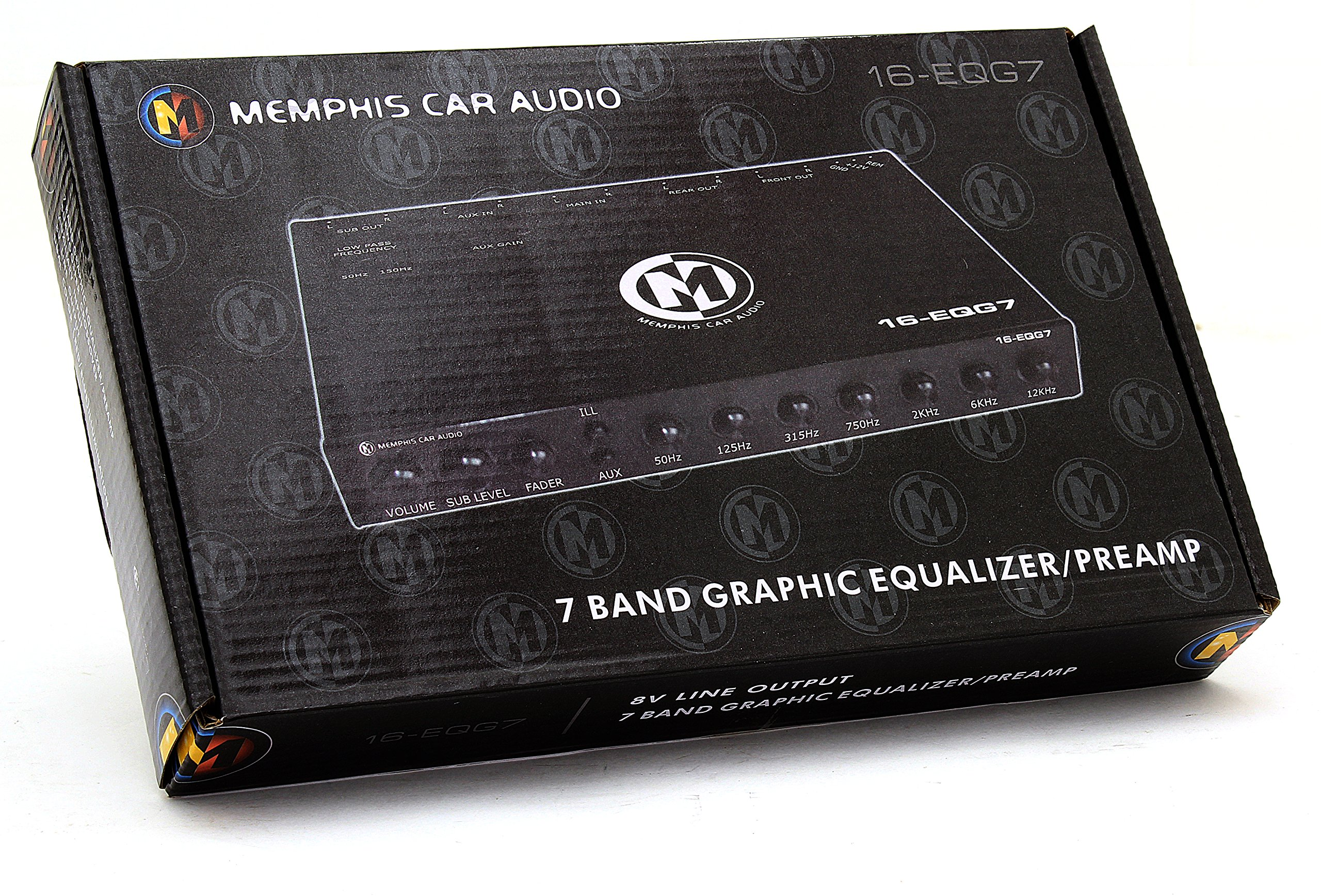 16-EQG7 - Memphis 7-Band Graphic Equalizer / Preamp by Memphis