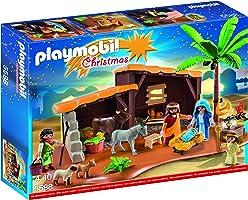 Playmobil Nacimiento Set de Portal con Pesebre
