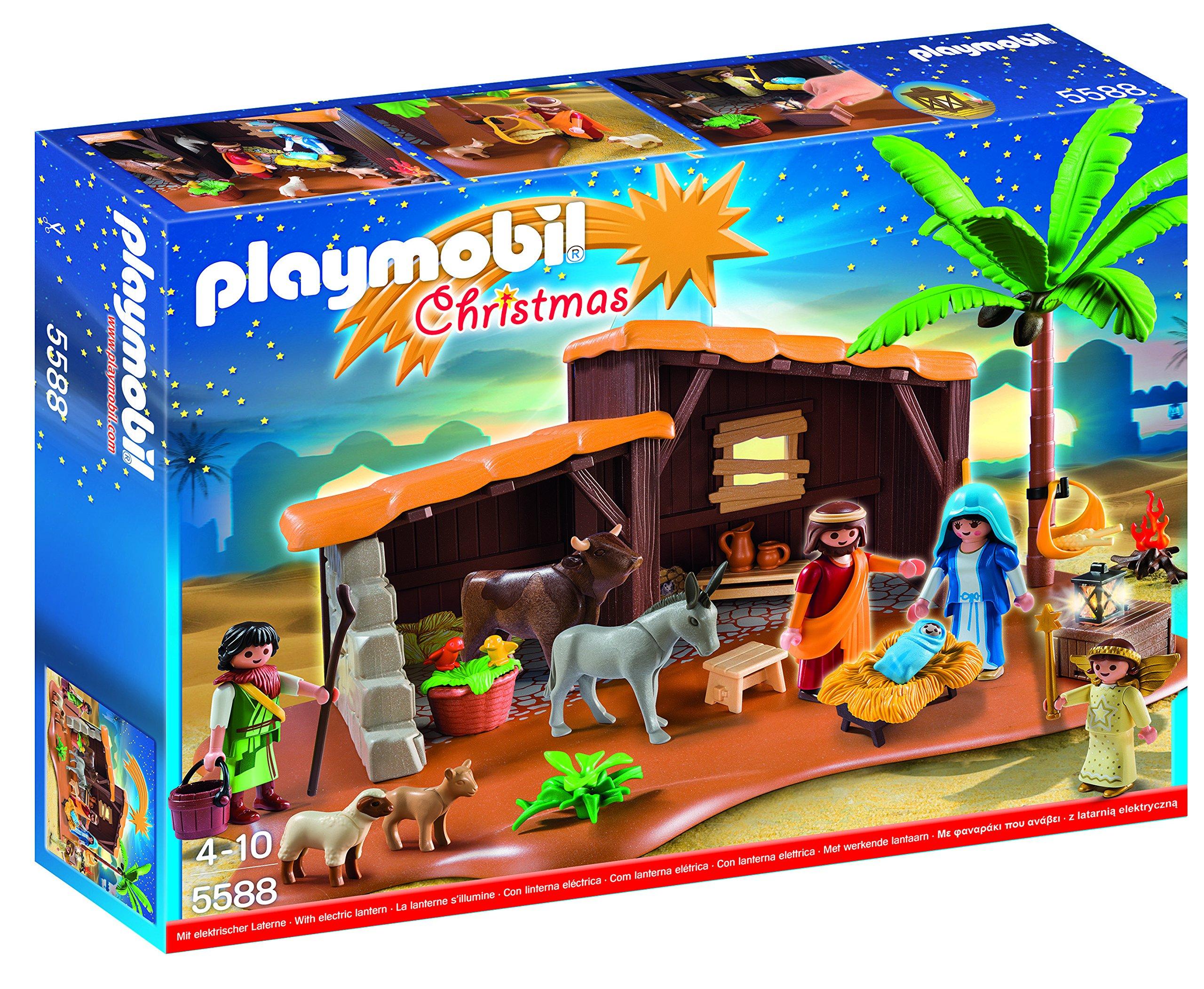 Playmobil Playmobil-5588 Navidad-Playset Bel&eacuten,, 39.9 x 29.7 x 7.4 (5588