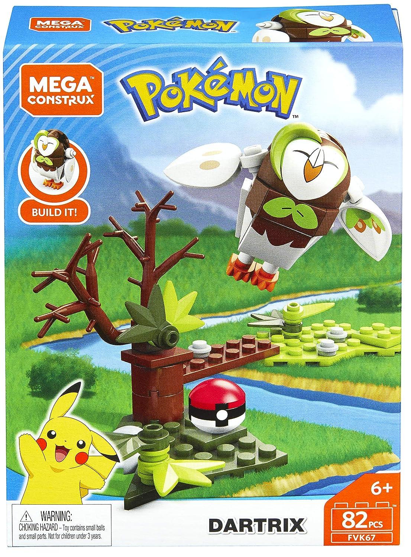 Mega Construx Pokemon Dartrix Dom Building Set Mattel FVK67