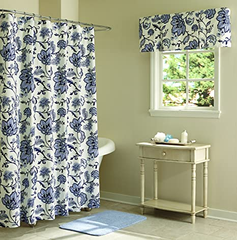 Amazon Split P Elissa Floral Shower Curtain Home Kitchen