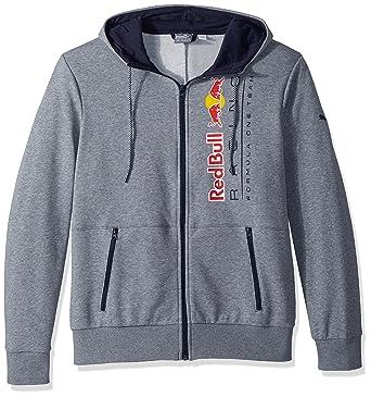 42575cc73796 PUMA Men s Red Bull Racing Logo Hooded Sweat Jacket at Amazon Men s ...