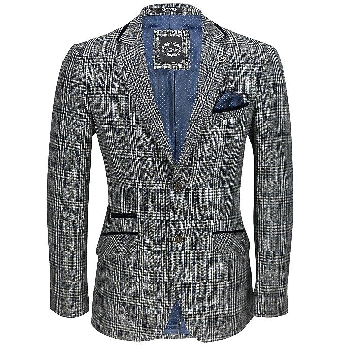 Amazon.com: Xposed New para hombre vintage gris diseño de ...