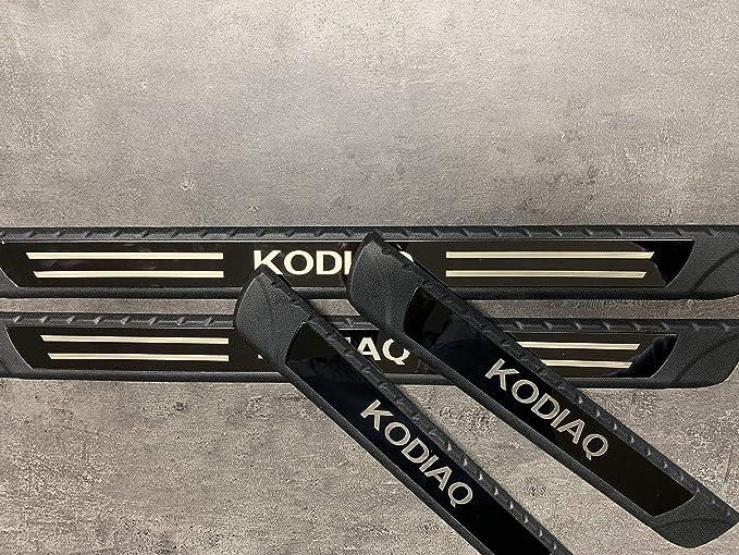 Spangenberg Seitenschutzleisten schwarz f/ür Skoda Kodiaq SUV Kombi ab Baujahr 03.2017 F57 370005701