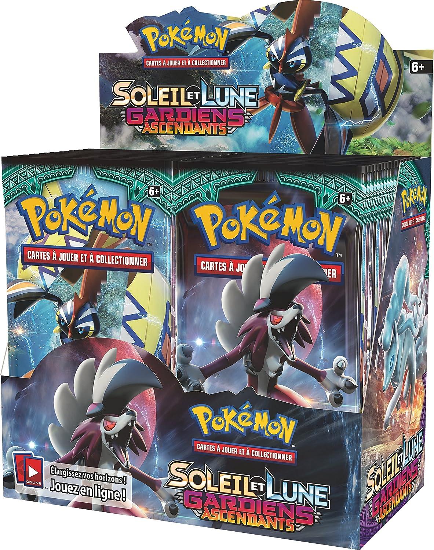 Satz 36 Booster Asmodee – posl202disco – Booster Pokémon Sonne und Mond 2 – Verkaufsständer