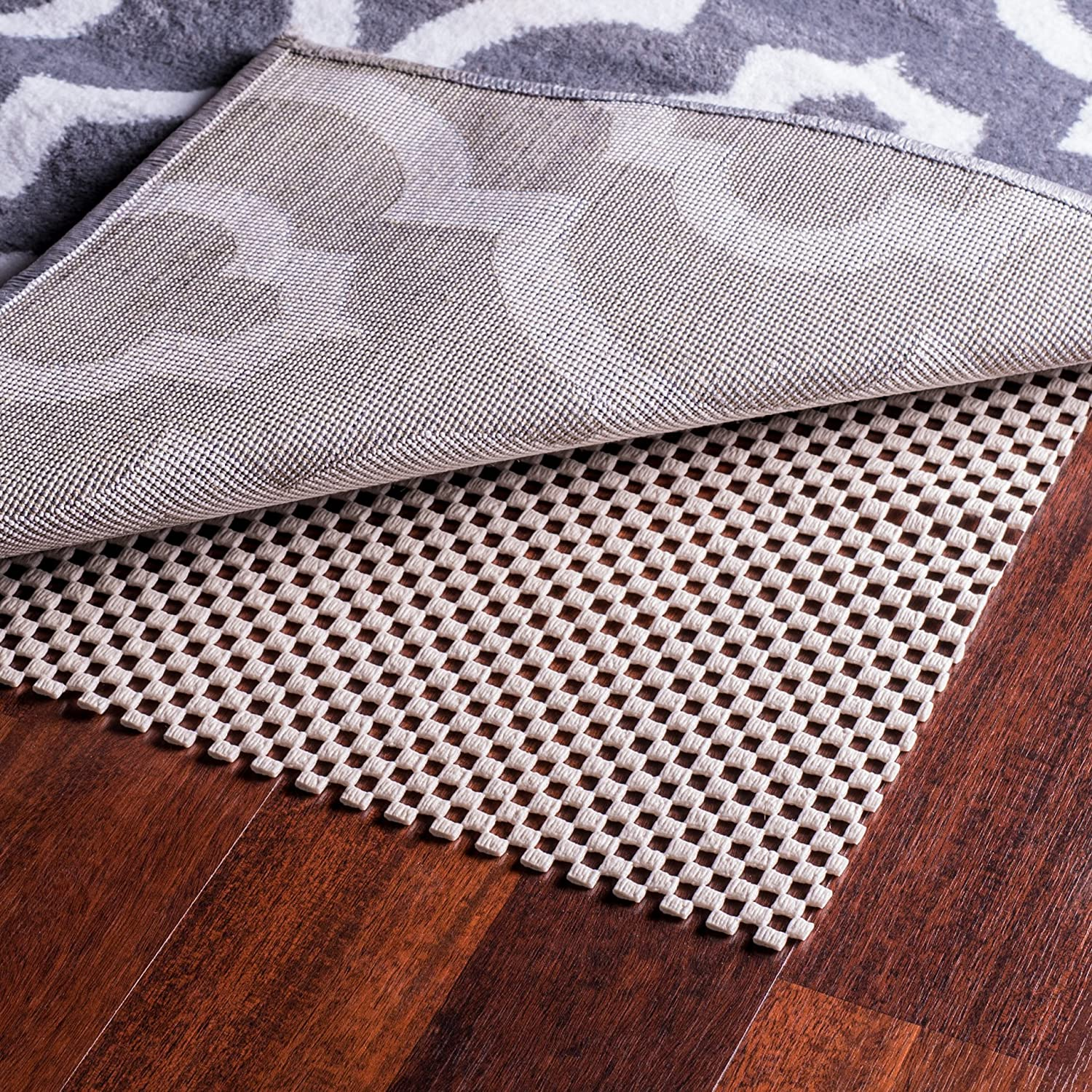 Epica Extra Thick Non-Slip Area Rug Pad 4 x 6 for any hard Surface Floor, Keeps Your Rugs Safe and in Place SYNCHKG124654