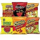 Frito-Lay Flamin' Hot Mix Variety Pack, Cheetos Cheese Snacks, Funyuns and More, 40 Count