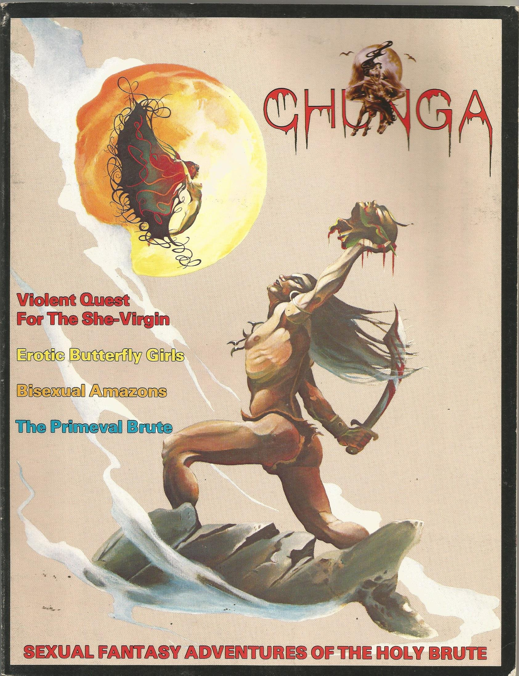 Chunga (Sexual Fantasy Adventures of the Holy Brute) Single Issue Magazine  – 1978