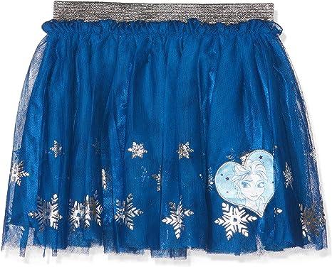 Disney La reine des neiges 2082 Falda, Azul (Bleu Bleu), 10 años ...