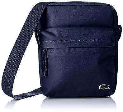 6f210651f8 Lacoste Sac Homme Access Basic, Bandouliere, Bleu (Peacoat), 8x28x21.5 cm  (W x H x L): Amazon.fr: Chaussures et Sacs
