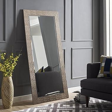 Naomi Home Mosaic Style Mirror Silver/65.5  x 31.5