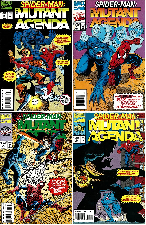 Amazon.com : Spider-Man Mutant Agenda #0, 1-3 Complete ...