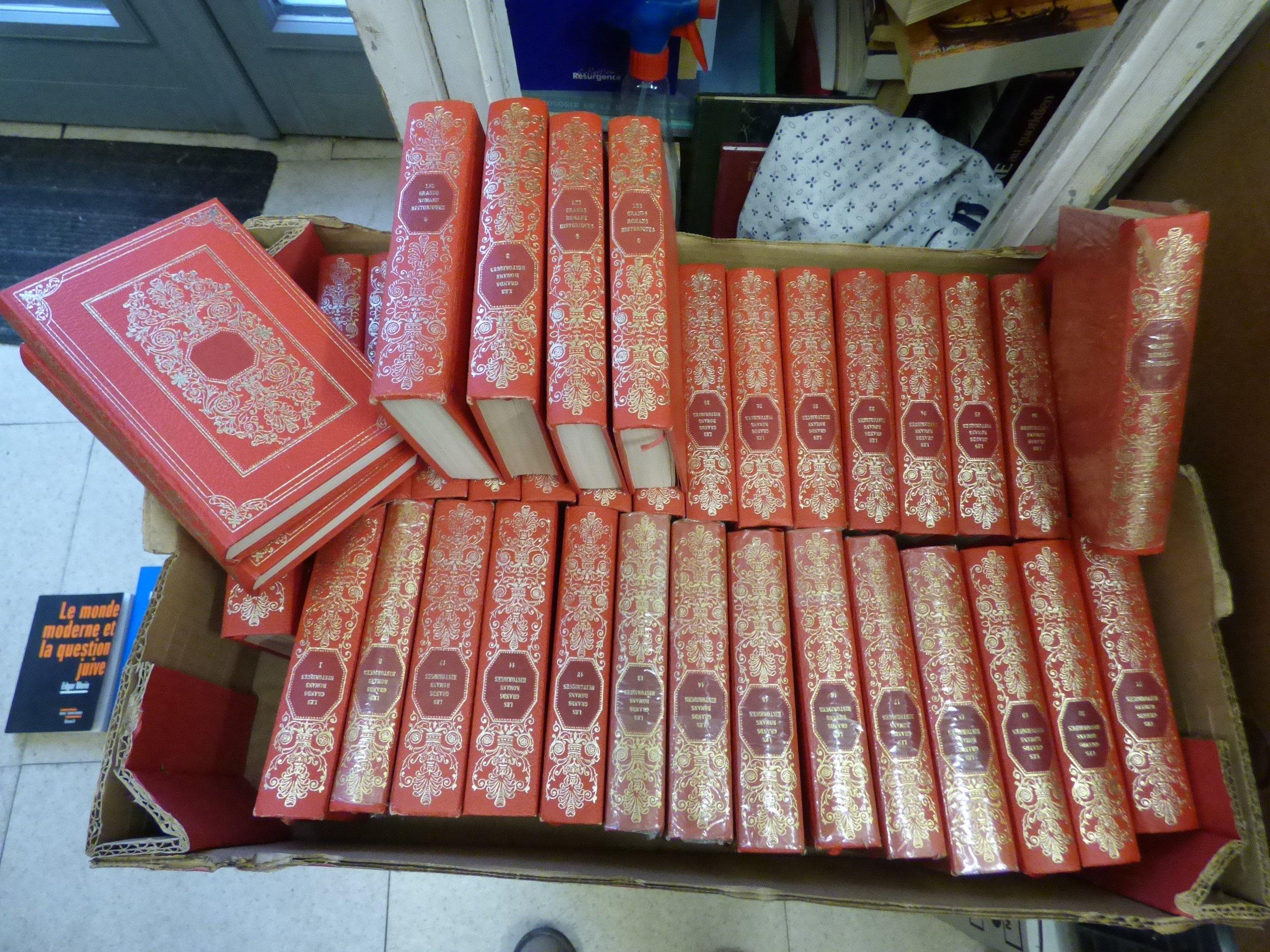 Amazon Fr Lot De 36 Livres Les Grands Romans Historiques