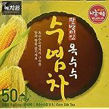 [Nokchawon] 100% Organic Oriental TEA selections from Korea Corn silk tea 50T