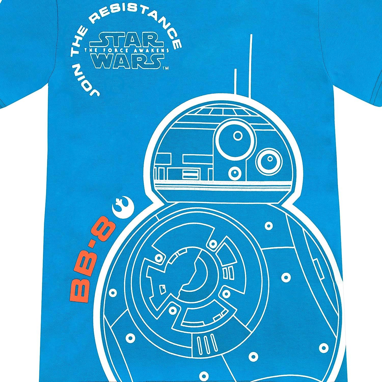 Amazon.com: Star Wars Boys\' BB8 T-Shirt: Clothing