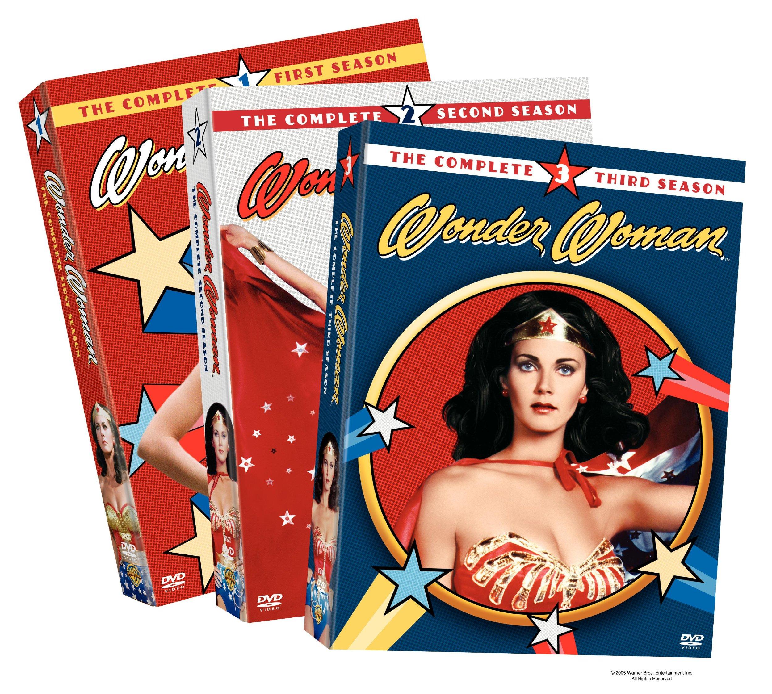 Wonder Woman: Complete Seasons 1-3 by Warner Home Video