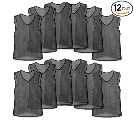 25213830d Unlimited Potential Nylon Mesh Scrimmage Team Practice Vests Pinnies  Jerseys Bibs for Children Youth Sports Basketball, Soccer, Football,  Volleyball (Pack ...